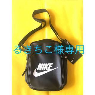 ナイキ(NIKE)の新品 NIKE ナイキ ショルダーバック ブラック(ショルダーバッグ)