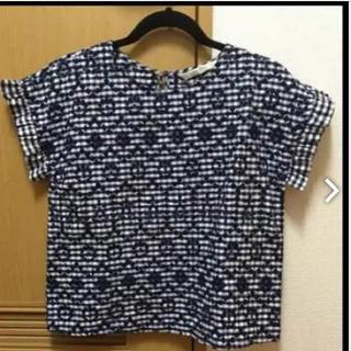 ザラ(ZARA)のザラ ギンガムチェック シャツ 新品(シャツ/ブラウス(半袖/袖なし))