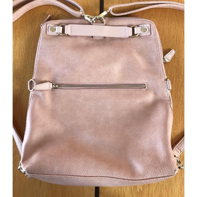 PAPILLONNER(パピヨネ)のPAPILLONNER 5wayリュック ピンク レディースのバッグ(リュック/バックパック)の商品写真
