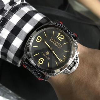 パネライ(PANERAI)のパネライ メンズ 虎 c3. 夜色 メンズ 自動巻き 腕時計(ラバーベルト)