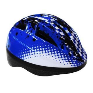 ★即日発送★ 子ども用 ヘルメット 自転車用 通気性◎ ブルー 他カラー有(ウエア)