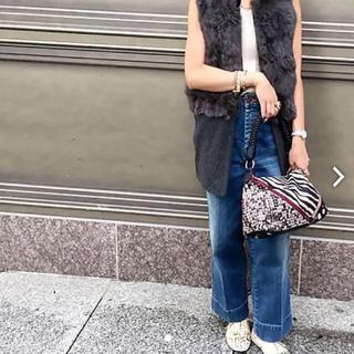 パピヨネ(PAPILLONNER)の【新品・未使用】パピヨネ ヴィンテージスカーフ柄Sショルダー(ハンドバッグ)