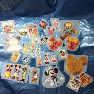 ディズニー(Disney)のハンドメイド ステッカー シール 実写 フード ミッキー ミニー  ドナルド(その他)