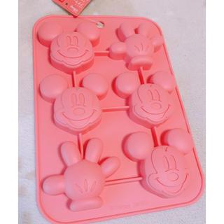 ディズニー(Disney)のディズニー/即完売/ミッキー型シリコンモールド/ダイソー(調理道具/製菓道具)