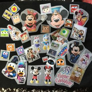 ディズニー(Disney)のハンドメイド ステッカー 実写 ミッキー ミニー  ドナルド デイジー (その他)
