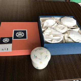タチキチ(たち吉)のたち吉 唐彩 むし茶碗 5組(食器)