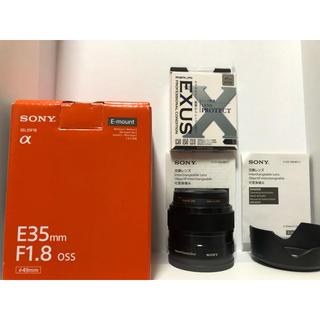ソニー(SONY)のSONY  ソニーEマウントレンズ SEL35F18(レンズ(単焦点))