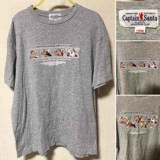 キャプテンサンタ(CAPTAIN SANTA)の90s 日本製 CAPTAIN SANTA Tシャツ キャプテンサンタ(Tシャツ/カットソー(半袖/袖なし))