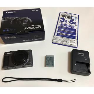 キヤノン(Canon)のデジカメ 新品同様 3年保証付き(コンパクトデジタルカメラ)
