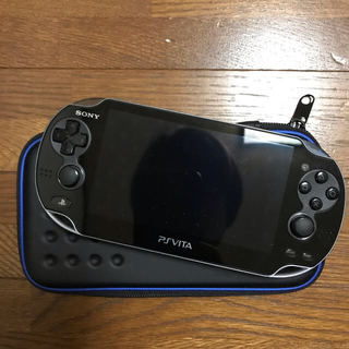 プレイステーションヴィータ(PlayStation Vita)のPlayStation Vita ポーチ付き(携帯用ゲーム機本体)