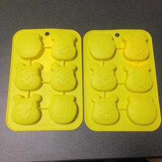 ディズニー(Disney)の【新品未使用】DAISO プーさん シリコン型 大サイズ 2個セット(調理道具/製菓道具)