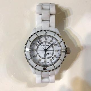 シャネル(CHANEL)のシャネル 腕時計 J12 ホワイト(腕時計)