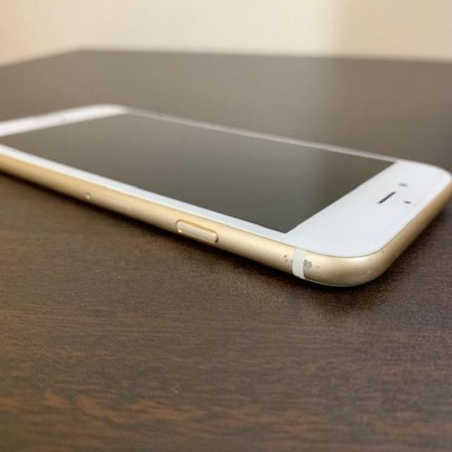 Apple(アップル)のiPhone6s 64GB ゴールドSIMフリー【画面割・おまけ付!!】 スマホ/家電/カメラのスマートフォン/携帯電話(スマートフォン本体)の商品写真
