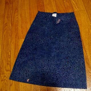 セレクト(SELECT)のLOVE 花柄ストレッチタイトスカート (ひざ丈スカート)
