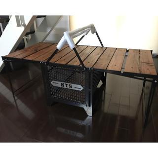 chiiさん専用    ネイチャートーンズ サイドアップボックス&テーブルL(テーブル/チェア)
