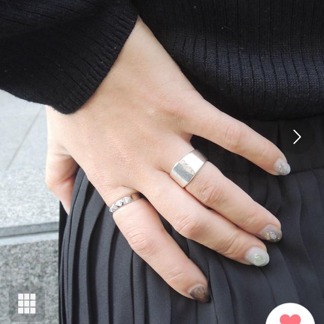 ete(エテ)のjouete ジェンダレス リング シルバー レディースのアクセサリー(リング(指輪))の商品写真