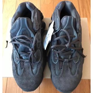 アディダス(adidas)の新品YEEZY500 US8.5 26.5センチ UTILITY BLACK(スニーカー)
