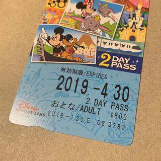 ディズニー(Disney)のディズニー リゾートライン 2デイパス(遊園地/テーマパーク)