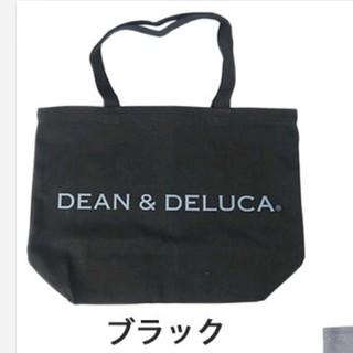 ディーンアンドデルーカ(DEAN & DELUCA)のDEAN&DELUCA ラージ ブラック ディーン&デルーカ トートバッグ(トートバッグ)