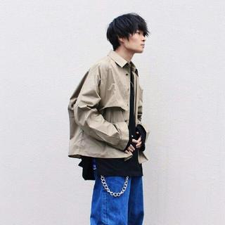 ジエダ(Jieda)のjieda 19SS trench shirt トレンチシャツ(トレンチコート)