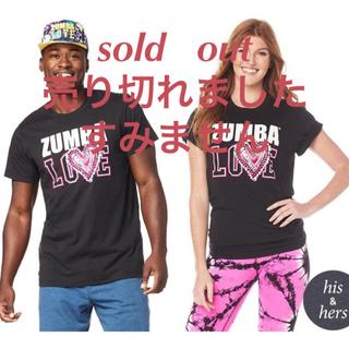 ズンバ(Zumba)のZUMBA ズンバ Tシャツ♡ 新品未使用♡男女共用 unisex L〜XL(Tシャツ(半袖/袖なし))