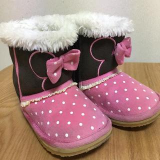 ディズニー(Disney)の14cm  ブーツ  ミニーちゃん(ブーツ)