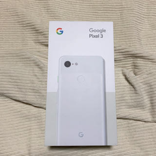 google pixcel3 128 SIMフリー(スマートフォン本体)