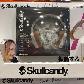 スカルキャンディ(Skullcandy)のSkullcandy クラッシュワイヤレスヘッドホン(ヘッドフォン/イヤフォン)
