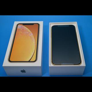 アップル(Apple)の新品未使用 iphone XR 64GB SIMフリー ネットワーク利用制限〇(スマートフォン本体)
