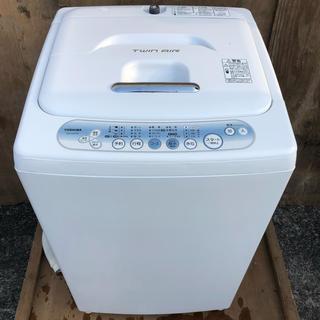東芝 - 近郊送料無料♪ 静音設計 5.0kg 洗濯機 東芝 AW-105