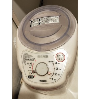 ツインバード(TWINBIRD)の1〜4合まで精米できる 精米御膳 ツインバード 精米器 MR-D570W(精米機)