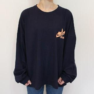 ルーズロゴtee(Tシャツ(長袖/七分))