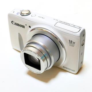 キヤノン(Canon)の⭐️Wi-Fi搭載⭐️光学18倍⭐️PowerShot SX600HS (コンパクトデジタルカメラ)