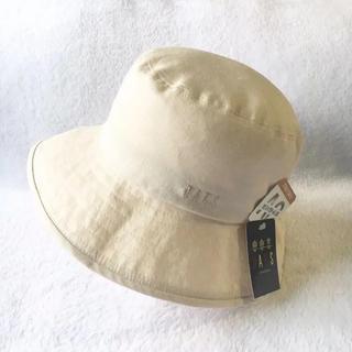 ダックス(DAKS)の新品 57cm DAKS ダックス レディース帽子 芯地UV加工 日本製(ハット)