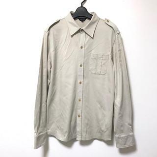ジョゼフ(JOSEPH)の定2.5万 ジョゼフオム 肩エポーレット長袖サファリシャツ48(シャツ)