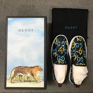 グッチ(Gucci)のGUCCI SLIPON GHOST グッチ スリッポン 27cm(スリッポン/モカシン)