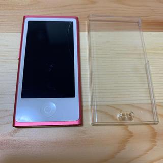 アップル(Apple)のiPod nano 第7世代(ポータブルプレーヤー)