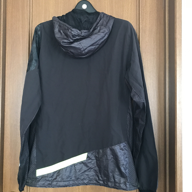 DIADORA(ディアドラ)のディアドラ メンズ フーディメッシュ ジャケット 黒 L スポーツ/アウトドアのテニス(ウェア)の商品写真