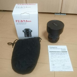 SAMYANG 単焦点広角レンズ  14㎜ F2.8(レンズ(単焦点))