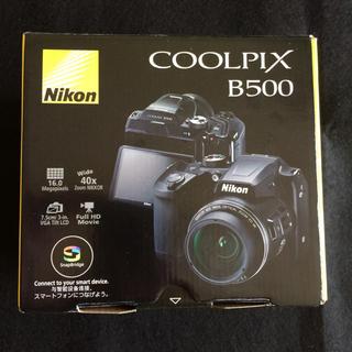 Nikon - 【新品・未開封】保証書付  NIKON COOLPIX B500