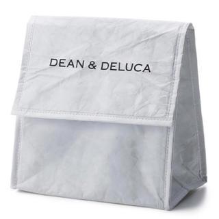 ディーンアンドデルーカ(DEAN & DELUCA)のDEAN & DELUCA ランチバッグホワイト マチ付き(弁当用品)