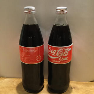 コカコーラ(コカ・コーラ)のレトロコーラ 瓶 500ml 2本(その他)