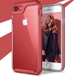 売り上げランキング1位✨レッド✨クリア✨透明✨本体のカラーを再現(iPhoneケース)
