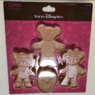 ディズニー(Disney)のスウィート ダッフィー クッキー型 抜き型 2017 限定(調理道具/製菓道具)