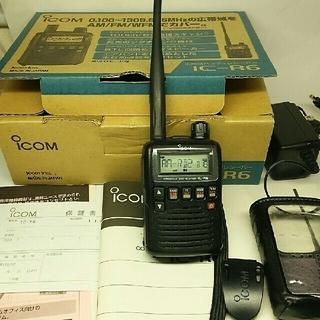 ICOM IC-R6 広帯域ハンディレシーバー(アマチュア無線)