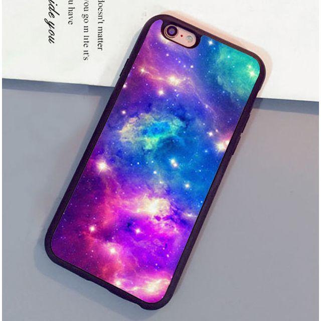 新品 iPhone6/6s対応 宇宙 ケース ハンドメイドのファッション小物(バッグ)の商品写真