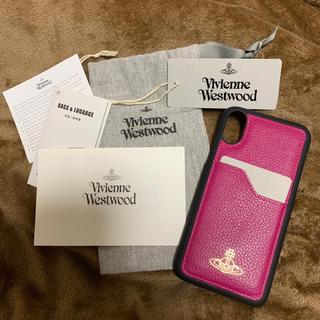 ヴィヴィアンウエストウッド(Vivienne Westwood)のヴィヴィアンiPhoneケース!新品!未使用!(iPhoneケース)