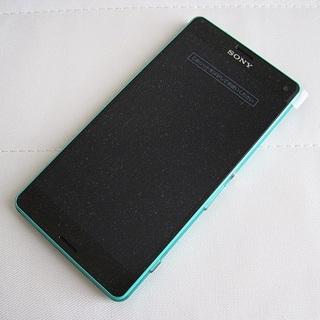 ソニー(SONY)の【外装交換品】ドコモ Xperia Z3 compact SO-02G グリーン(スマートフォン本体)