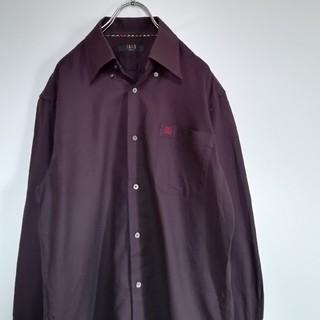 ダックス(DAKS)の【美品】DAKS London chest Logo shirt Purple(シャツ)