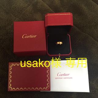カルティエ(Cartier)の18K Loveフルカラーリング(リング(指輪))